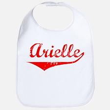Arielle Vintage (Red) Bib