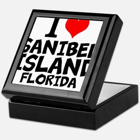 I Love Sanibel Island, Florida Keepsake Box