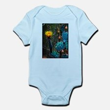 Yellow Prickly Pear Cactus Body Suit