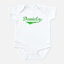 Daniela Vintage (Green) Infant Bodysuit