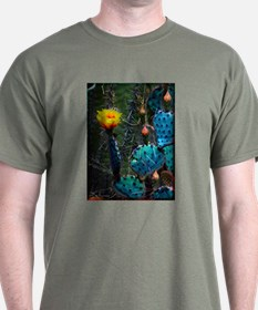 Yellow Prickly Pear Cactus T-Shirt