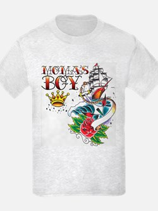 Moma's Boy Tattoo Flash T-Shirt
