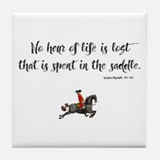 Horses Hour of Life Tile Coaster