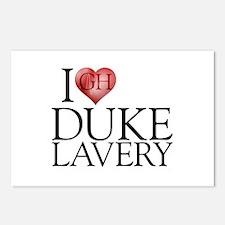 I Heart Duke Lavery Postcards (Package of 8)