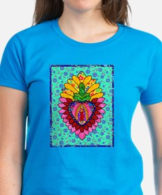 Pink Guadalupe Milagro Tee