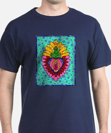 Pink Guadalupe Milagro T-Shirt