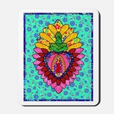 Pink Guadalupe Milagro Mousepad