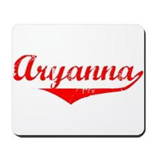 Aryanna Vintage (Red) Mousepad
