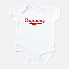 Aryanna Vintage (Red) Infant Bodysuit