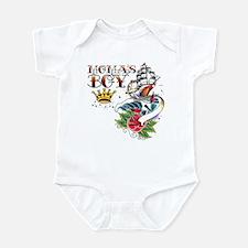 Moma's Boy Tattoo Flash Infant Bodysuit