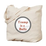 Anti trump not my president Canvas Bags