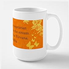 To become vegetarian... Mug