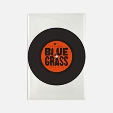 bluegrass LP Rectangle Magnet