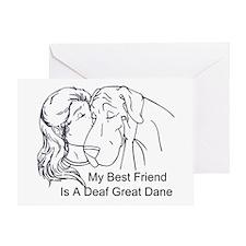 N Deaf BF Greeting Card