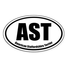 AST Oval Euro Sticker Decal