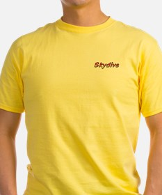 Skydive(gradient)red T-Shirt
