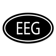 EEG Oval Decal