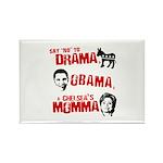Say no to Drama, Obama, Chelsea's Mama Rectangle M