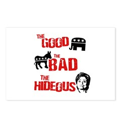 The good, the bad, and the hideous Postcards (Pack