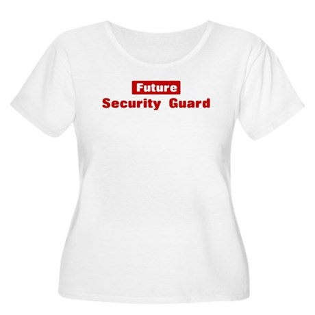 Future Security Guard Women's Plus Size Scoop Neck