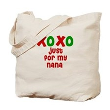 Kisses & Hugs for Nana Tote Bag