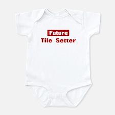 Future Tile Setter Onesie