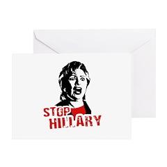 Stop Hillary / Anti-Hillary Greeting Card