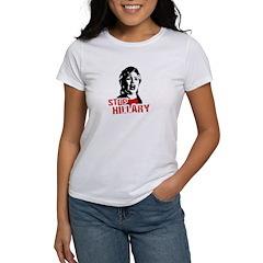 Stop Hillary / Anti-Hillary Tee