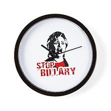 Stop Billary Wall Clock