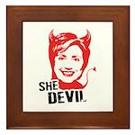 She Devil Framed Tile