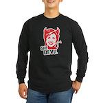 She Devil Long Sleeve Dark T-Shirt