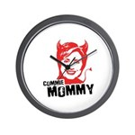 Anti-Hillary: Commie Mommy Wall Clock