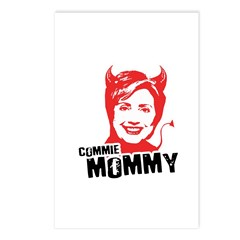 Anti-Hillary: Commie Mommy Postcards (Package of 8