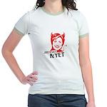 Just say nyet Jr. Ringer T-Shirt