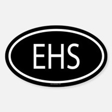 EHS Oval Decal