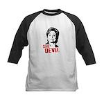 Anti-Hillary: She-Devil Kids Baseball Jersey