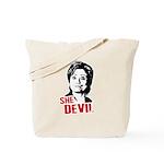 Anti-Hillary: She-Devil Tote Bag