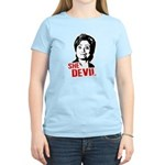 Anti-Hillary: She-Devil Women's Light T-Shirt