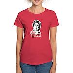 Anti-Hillary: She-Devil Women's Dark T-Shirt