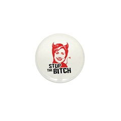 Stop the Bitch Mini Button (100 pack)