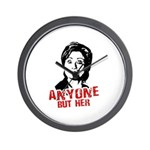 Anti-Hillary: Anyone but her Wall Clock