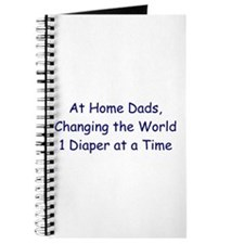 At Home Dad Note Journal
