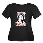 Anti-Hillary: Stop the Bitch Women's Plus Size Sco