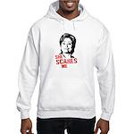 Anti-Hillary: She Scares Me Hooded Sweatshirt