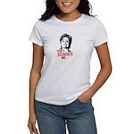 Anti-Hillary: She Scares Me Women's T-Shirt
