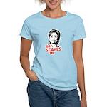 Anti-Hillary: She Scares Me Women's Light T-Shirt