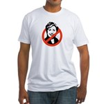 Anti-Hillary Fitted T-Shirt