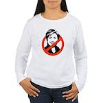 Anti-Hillary Women's Long Sleeve T-Shirt