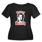 Royal Bitch / Anti-Hillary Women's Plus Size Scoop