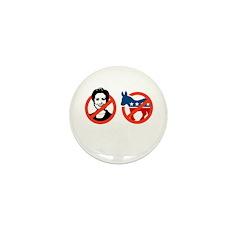 Anti-Hillary & Anti-Ass Mini Button (100 pack)